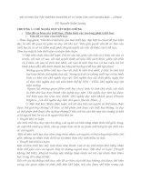 ĐỀ CƯƠNG ôn tập NHỮNG NGUYÊN lý cơ bản của CHỦ NGHĨA mác