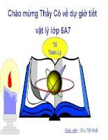 Bài giảng vật lý 6 lực và đơn vị đo lực (21)