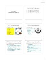 Bài giảng Quản lý dự án phần mềm: Chương 3 (tt)  ĐH Công nghiệp TP.HCM