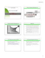 Bài giảng Quản lý dự án phần mềm: Chương 3  ĐH Công nghiệp TP.HCM
