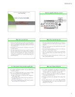 Bài giảng Quản lý dự án phần mềm: Chương 8  ĐH Công nghiệp TP.HCM