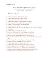 Bộ câu hỏi thi nội y2