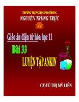 Bài giảng bài luyện tập ankin hóa học 11 (4)