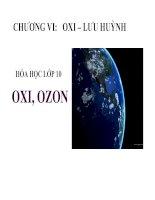 Bài giảng bài oxi   ozon hóa học 10