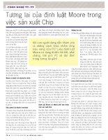 Tương lai của định luật moore trong việc sản xuất chip