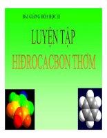 Bài giảng bài luyện tập hiđrocacbon thơm hóa học 11 (7)