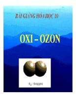 Bài giảng bài oxi   ozon hóa học 10 (9)
