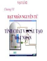 Bài giảng bài tính chất và cấu tạo của hạt nhân vật lý 12 (6)