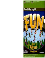 Fun for flyers second edition