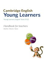 Cambridge Young Learner English Handbook For Teachers