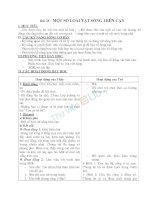 Giáo án TNXH 2 bài một số loài vật sống trên cạn (6)