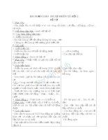 Giáo án TNXH 2 bài hệ cơ (4)