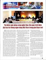 Banking vietnam 2010 tìm kiếm giải pháp công nghệ thúc đẩy quá trình hiện đại hóa hệ thống ngân hàng việt nam trong giai đoạn mới