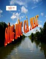 Bài giảng ngữ văn lớp 6 tham khảo sông nước cà mau (3)