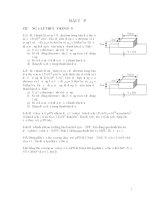 Bài tập kỹ thuật điện tử