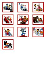 Lego - Memory game cards