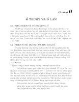 Giáo trình Hình họa Vẽ kỹ thuật Chương 6
