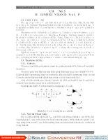 Bài giảng Điện tử cơ bản Chương 5 Họ Linh Kiện Bán Dẫn 4 Lớp