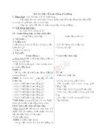 Giáo án TNXH 3 bài một số hoạt động ở trường (4)