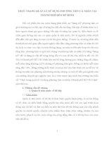 THỰC TRẠNG QUẢN LÝ SỬ DỤNG PHƯƠNG TIỆN CÁ NHÂN TẠI THÀNH PHỐ HỒ CHÍ MINH
