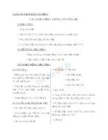 Giáo án TNXH 3 bài các hoạt động thông tin liên lạc (2)