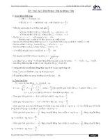 Hệ thống công thức vật lý 12 chương trình cơ bản