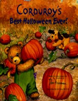 Ebook Tiếng Anh cho trẻ em: Corduroy's Best Halloween Ever!