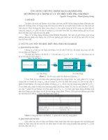 Mô phỏng quá trình xử lý tín hiệu điều pha nhị phân