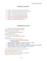 Bài giảng Điều khiển tự động Chương 1 Phần tử và hệ thống điều khiển tự động