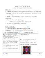 Giáo án mỹ thuật 6 bài vẽ trang trí hình vuông (6)