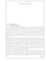 CHUYÊN đề hội THẢO các TRƯỜNG CHUYÊN VÙNG DHĐBBB lần THỨ VIII năm 2015 môn TIẾNG ANH TRƯỜNG CHUYÊN hải PHÒNG
