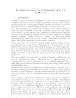 CHUYÊN đề hội THẢO các TRƯỜNG CHUYÊN VÙNG DHĐBBB lần THỨ VIII năm 2015 môn TIẾNG ANH TRƯỜNG CHUYÊN  hải