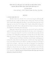 MỘT số câu hỏi, bài tập LIÊN QUAN đến SÔNG NGÒI TRONG bồi DƯỠNG học SINH GIỎI môn địa lí