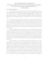 QUAN NIỆM NGHỆ THUẬT về CON NGƯỜI TRONG văn học VIỆT NAM từ CÁCH MẠNG THÁNG 8 1945 đến NAY