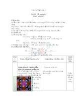 Giáo án mỹ thuật 6 bài vẽ trang trí hình vuông