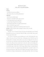 Bài viết số 2 lớp 6: Kể về một việc tốt em đã làm
