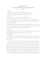Bài viết số 2 lớp 6: Kể về một kỉ niệm hồi thơ ấu làm em nhớ mãi