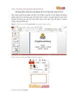 Hướng dẫn chuyển nội dung từ PowerPoint sang Word