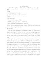 Bài viết số 2 lớp 6: Kể về một lần em mắc lỗi
