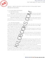 PHÂN TÍCH VÀ ĐÁNH GIÁ THỰC TRẠNG VÀ MỘT SỐ GIẢI PHÁP CƠ BẢN ĐỂ NÂNG CAO HIỆU QUẢ HOẠT ĐỘNG CỦA HỆ THỐNG NGÂN HÀNG THƯƠNG MẠI TRÊN ĐỊA BÀN TP. HCM TRONG THỜI GIAN QUA