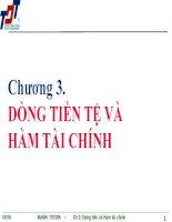 Bài giảng Tin học ứng dụng trong kinh doanh 1: Chương 3  ĐH Tôn Đức Thắng