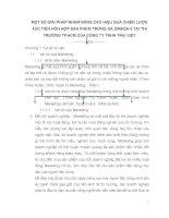 MỘT SỐ GIẢI PHÁP NHẰM NÂNG CAO HIỆU QUẢ CHIẾN LƯỢC XÚC TIẾN HỖN HỢP SẢN PHẨM TRỨNG GÀ OMEGA-3 TẠI THỊ TRƯỜNG TP.HCM CỦA CÔNG TY TNHH TRẠI VIỆT
