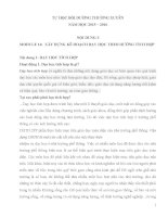 TỰ học bồi DƯỠNG THƯỜNG XUYÊN MODULE 14