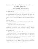 XÁC ĐỊNH VÀ DỰ BÁO NHU CẦU VẬT TƯ CHO SẢN XUẤT Ở CÔNG TY CỔ PHẦN IN DIÊN HỒNG