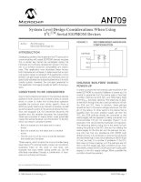 AN0709   system level design considerations when using I2CTM serial EEPROM devices