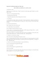 Soạn bài lớp 11: Đặc điểm loại hình của Tiếng Việt