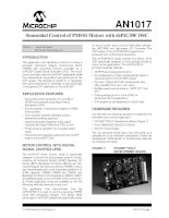 AN1017   sinusoidal control of PMSM motors with dsPIC30F DSC