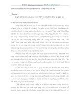 TÍNH CỘNG ĐỒNG CỦA LÀNG XÃ NGƯỜI VIỆT ĐỒNG BẰNG BẮC BỘ THỂ HIỆN QUA CÁC THIẾT CHẾ(TỔ CHỨC NÔNG THÔN