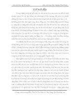 THỰC TRẠNG TÌNH HÌNH KẾT QUẢ HOẠT ĐỘNG TRONG LĨNH VỰC AN SINH XÃ HỘI VÀ VẬN DỤNG CÁC KĨ NĂNG CÔNG TÁC XÃ HỘI TẠI TRƯỜNG THCS ĐOÀN THỊ ĐIỂM