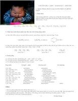 Ôn thi Đại học môn Hóa học Chuyên đề amin – aminoaxit – protein